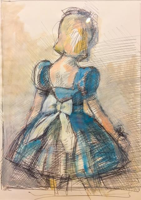 , 'Blue Turnaround Girl,' 1995, Cross Contemporary Art