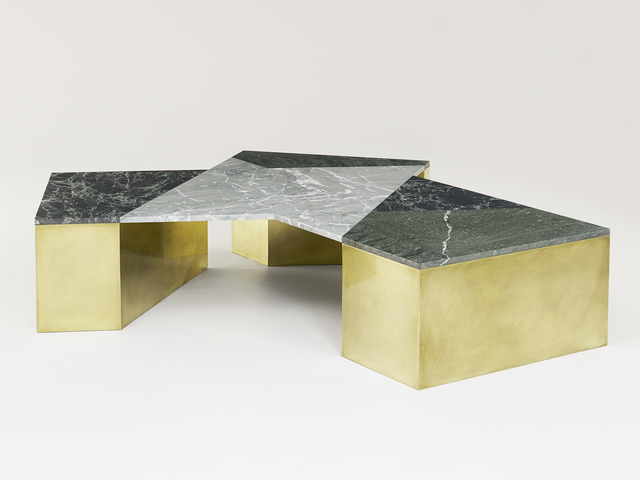 , 'Mixed Marble Coffee Table - Green,' 2015, Patrick Parrish Gallery