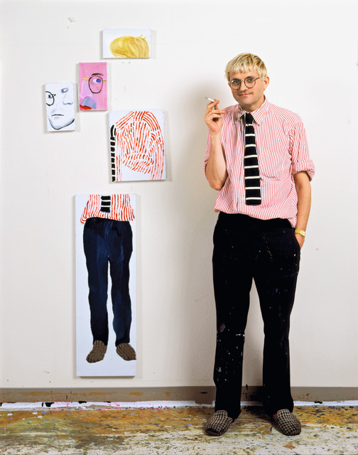 , 'David Hockney in the Studio (Los Angeles) ,' 1983, TASCHEN