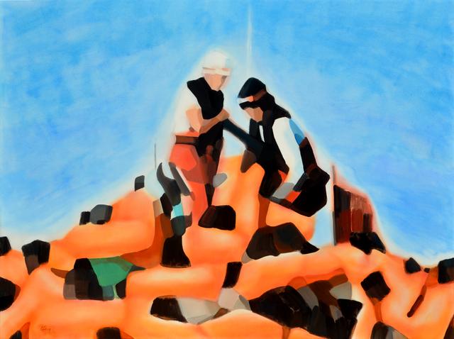, 'Traversée n9,' 2019, RED ZONE ARTS