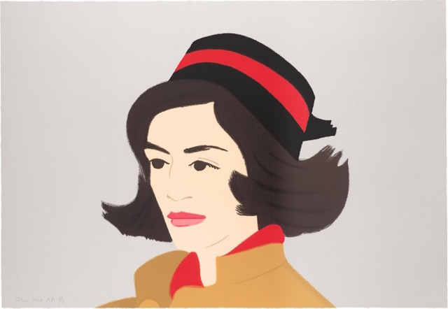 Alex Katz, 'Ada in Pillbox Hat (Alex and Ada Suite)', 1990, Gregg Shienbaum Fine Art