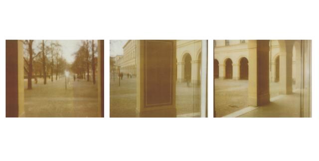 , 'Three Views of Hofgarten Munich,' 2008, BASTIAN