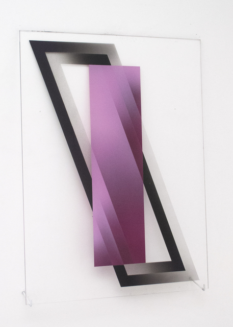 , '(untitled - rectangle overlapping two parallelograms),' 2017, Galleri Urbane