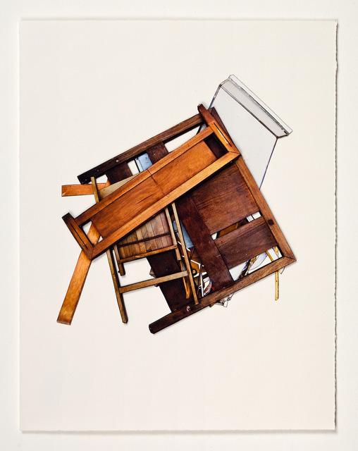 , 'Bedframe,' 2012, Robert Mann Gallery