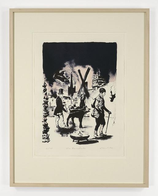 , 'Die Feuerschale,' 2016, David Zwirner