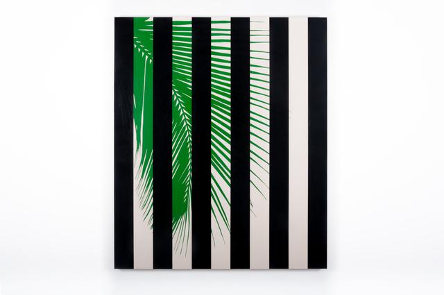 , 'Arecaceae (Black),' 2016, Instituto de Visión