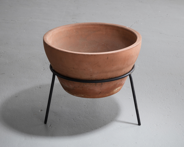, 'Terra cotta vessel on an iron base. ,' 1950-1959, R & Company