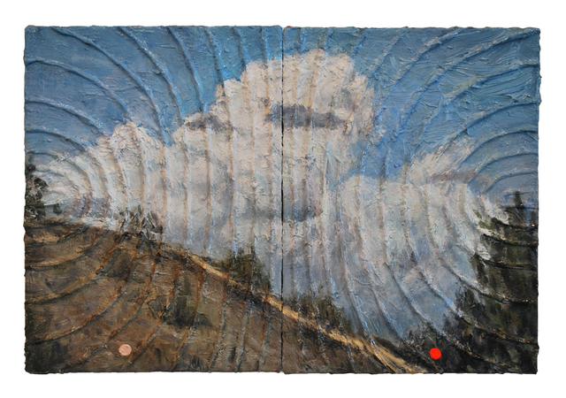 , 'Pair (September clouds over Los Angeles),' 2013, Klowden Mann