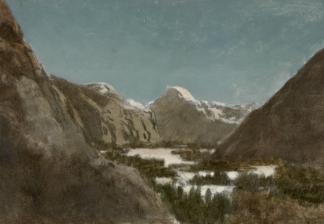 , 'Yosemite in Winter,' 1878, Debra Force Fine Art