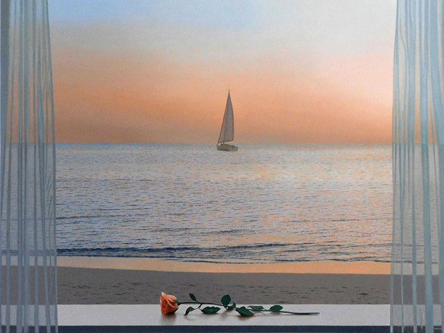 Renato Meziat, 'The Rose and the Boat', 2018, ArtSpace / Virginia Miller Galleries