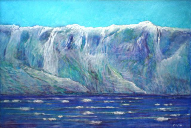 , 'Hubbard Glacier I,' 2008, Atrium Gallery