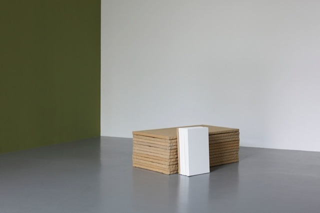Claude Rutault, 'de-finition/method. horizontal/vertical, theme 5 of 'from stack to stack'', 1989-1990 , Perrotin