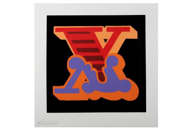 Ben Eine, 'X', 2017, Chiswick Auctions