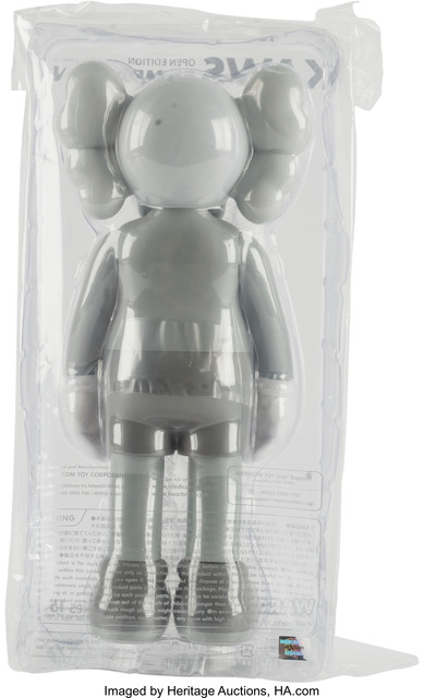 KAWS, 'Companion (Grey), (Open Edition)', 2016, Other, Painted cast vinyl, Heritage Auctions