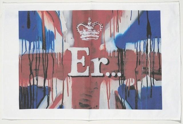 Banksy, 'Er... (Union Jack Tea Towel)', 2012, Artsnap