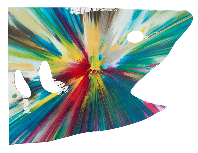Damien Hirst, 'Shark Spin Painting (Created at Damien Hirst Spin Workshop)', 2009, Rago