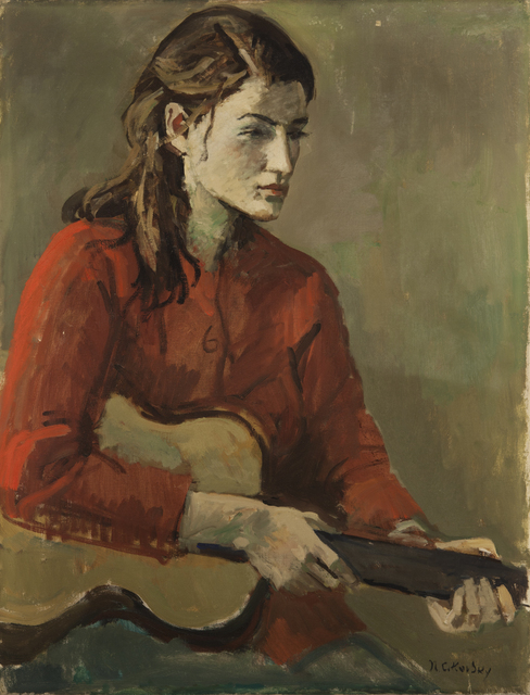 Nicolai Cikovsky, 'Girl with Guitar', 1933-1987, ACA Galleries