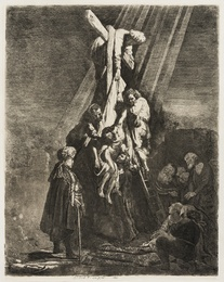 The Descent from the Cross: the Second Plate