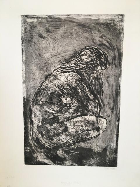 , 'Kauerndes Weib (Crouching Woman),' 1908, Alice Adam Ltd.