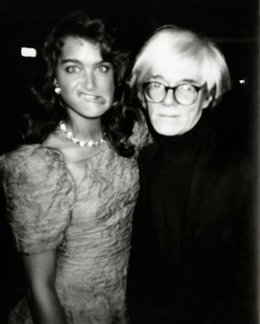Andy Warhol, 'Andy Warhol, Photograph with Brooke Shields Making a Funny Face, 1985', 1985, Hedges Projects