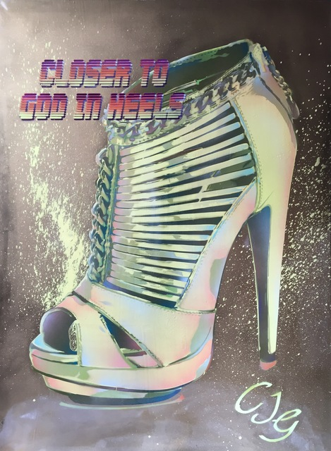 , 'Closer to God in Heels (CJG),' 2012, Imitate Modern