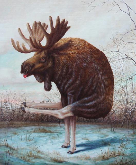 Bruno Pontiroli, 'Bipedologie', 2019, Fousion Gallery