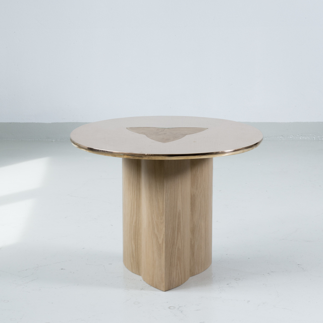 , 'Side TABLE in Oak and Bronze by Tinatin Kilaberidze,' 2018, Valerie Goodman Gallery