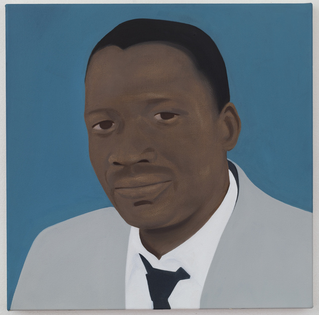 , 'Sobukwe (After Robert Sobukwe). Teacher, lawyer, academic and writer who led an Africanist breakaway from the African National Congress in 1958 to form the Pan African Congress.,' 2016, Mariane Ibrahim Gallery