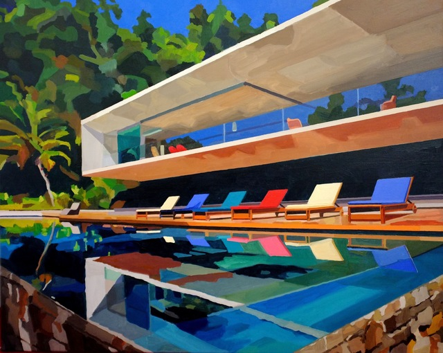 , 'Brazil House,' 2015, Cynthia Corbett Gallery