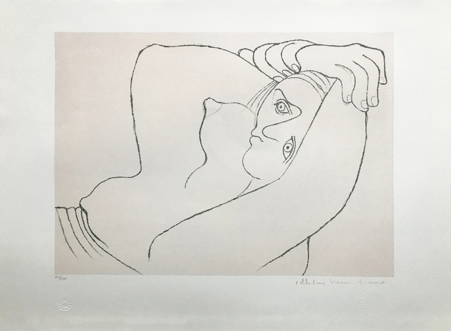 Pablo Picasso, 'FEMME COUCHEE', 1979-1982, Gallery Art
