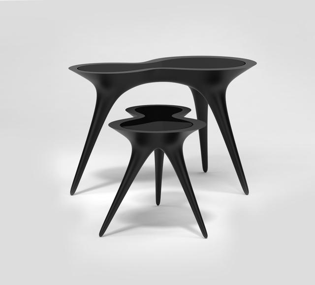 Timothy Schreiber, 'Black Ice Tables', 2014, Wexler Gallery