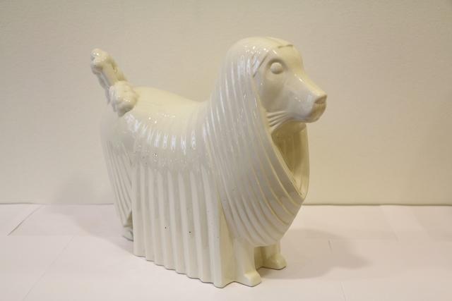 Jacques Adnet, 'Ceramic Poodle, by Jacques Adnet', ca. 1930, Design/Decorative Art, Ceramic, Avant-Garde Gallery