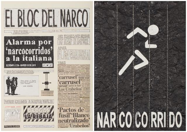 , 'El Bloc Del Narco #11,' 2016, Steve Turner