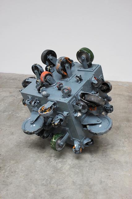 John Beech, 'Rolling Platform (Sea Gray)', 2012, Daniel Marzona