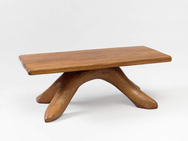 , 'Walnut coffee table,' ca. 1947, Galerie Jacques Lacoste