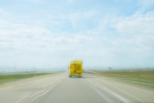 , 'School Bus,' 2013, Winsor Gallery