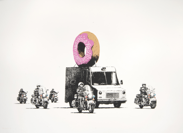 Banksy, 'Donuts (Strawberry)', 2009, Tate Ward Auctions
