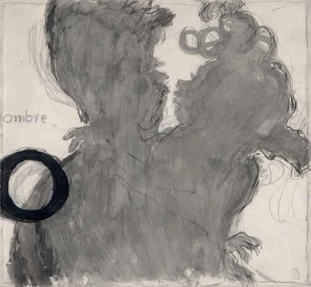 , 'O, Ombre (Dessin pour Un Alphabet sentimental),' 1893, Jill Newhouse Gallery