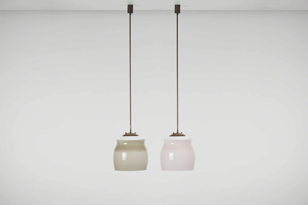 Franco albini ceiling light model 4023 ca 1955 casati