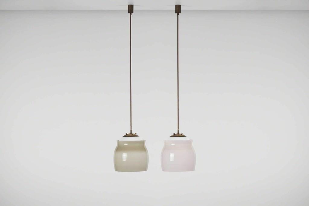 Franco albini ceiling light model 4023 ca 1955 casati