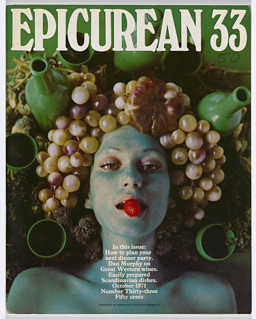 , 'Epicurean Magazine Cover Design Number 33,' 1971, National Gallery of Victoria