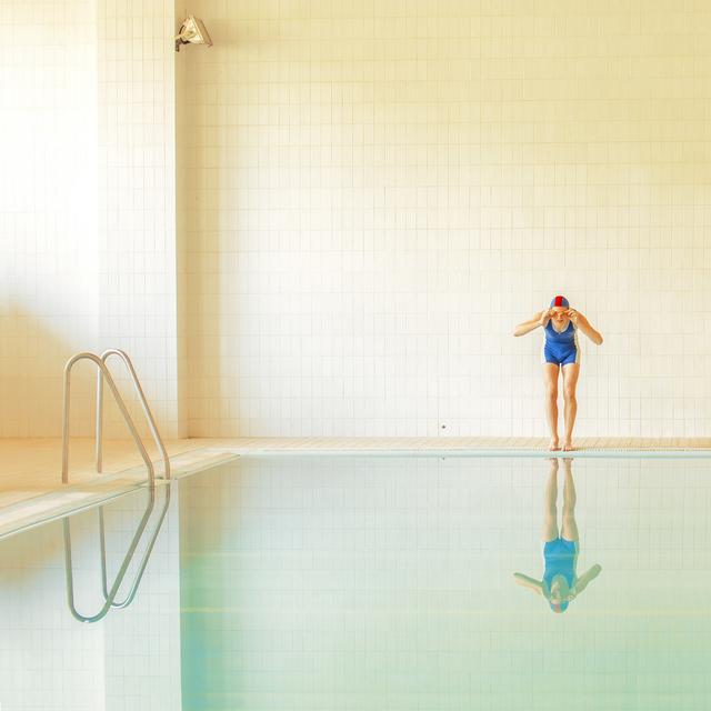 Maria Svarbova, 'Jumper', 2014, Photography, Archival pigment print, Gilman Contemporary