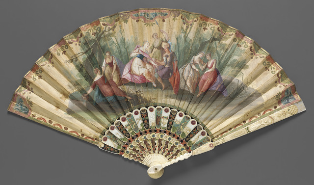 , 'Fan, Italian (Venice),' ca. 1730, Legion of Honor