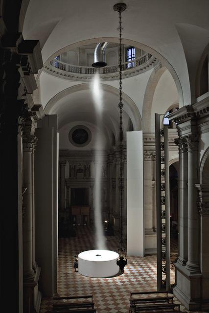 , 'Ascension,' 2011, Abbazia di San Giorgio Maggiore