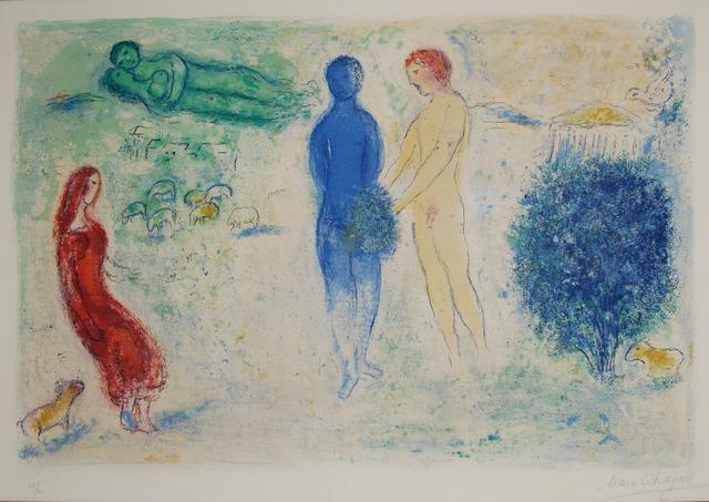 , 'le jugement de chloé,' 1961, Bogena Galerie