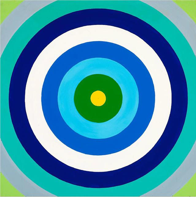 , 'Untitled (target painting),' ca. 1965, Galleri Bo Bjerggaard