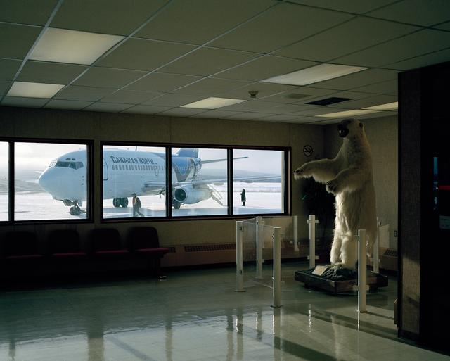 , 'Inuvik Airport,' 2008, Circuit Gallery