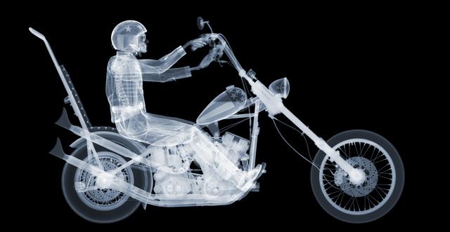 Nick Veasey, 'Easy Rider, Ed. 7/25', 2015, ÆRENA Galleries and Gardens