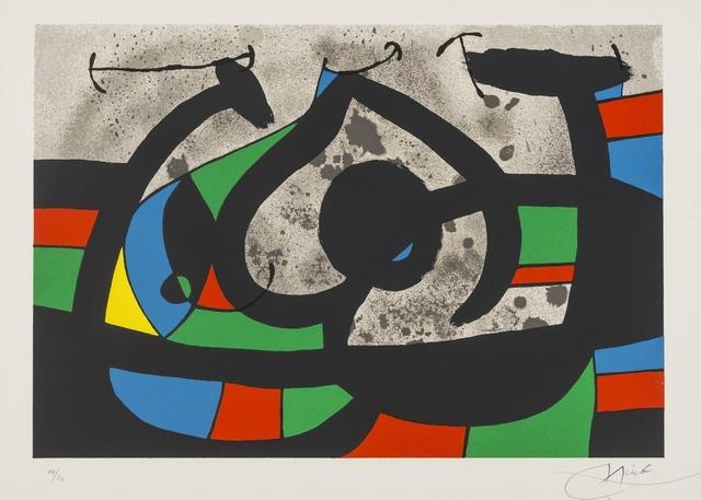 Joan Miró, 'Plate 11 From Le Lezard aux Plumes d'or (Mourlot 815)', 1975, Forum Auctions