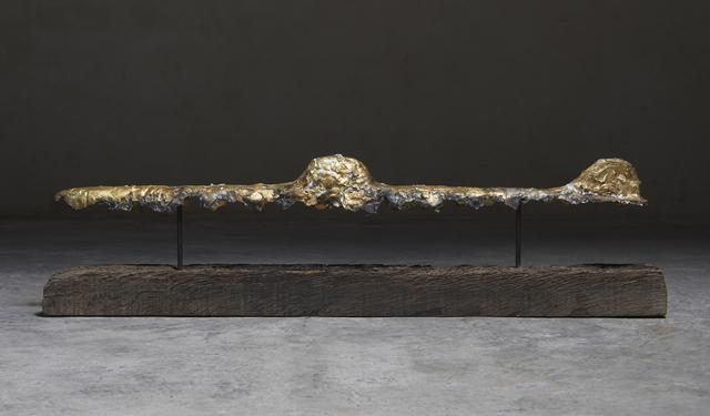 Riera i Aragó, 'Golden Horizontal Submarine', 2018, Matthew Liu Fine Arts